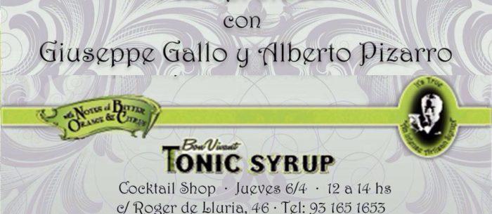 Masterclass con Giuseppe Gallo y Alberto Pizarro
