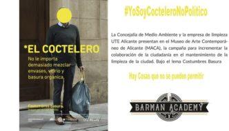 Petición de retirada de la campaña de limpieza de Alicante